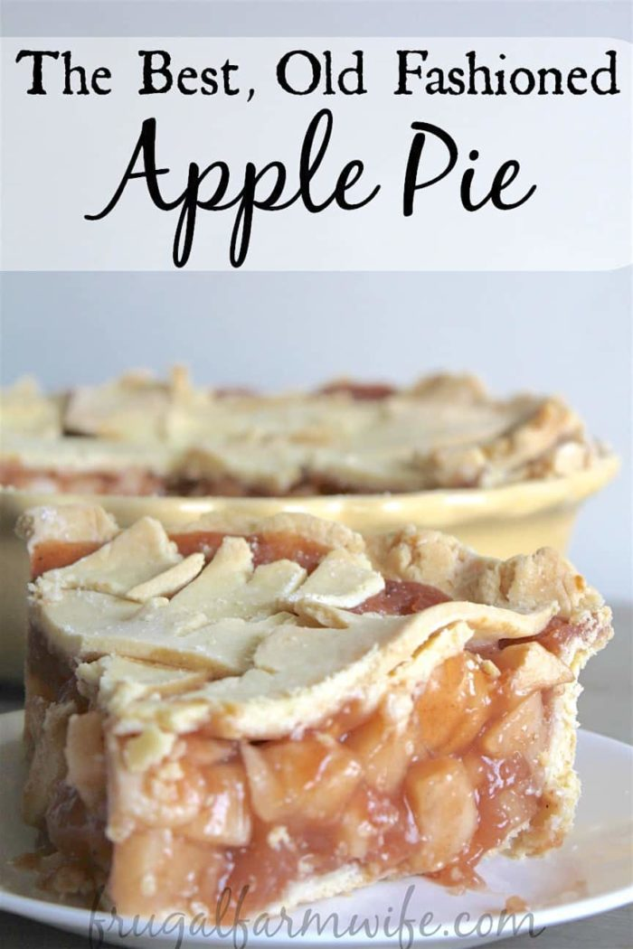 This gluten-free apple pie is the old fashioned amish apple pie of your dreams!