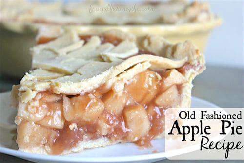 old fashioned gluten-free apple pie