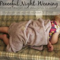 Peaceful Night-Weaning