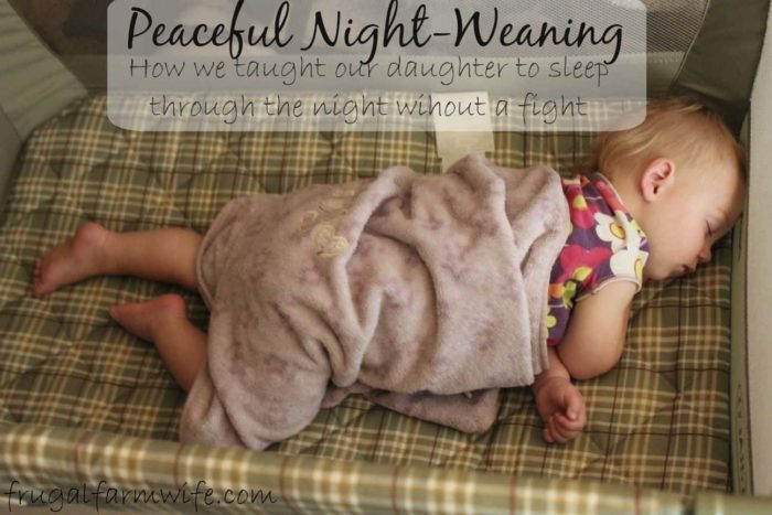 how to teach your baby to sleep through the night without a fight.