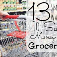 13 Smart Ways To Save On Groceries