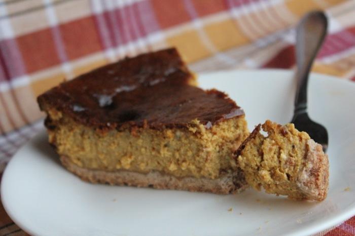 Sugar-Free Pumpkin Cheesecake