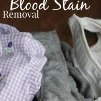 How To Remove Blood Stains From Clothing
