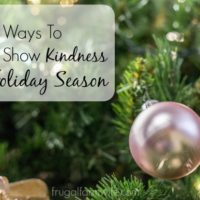 Seven Ways To Show Kindness This Holiday Season