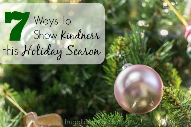 One Bloggers List: 7 Ways To Show Kindness This Holiday Season
