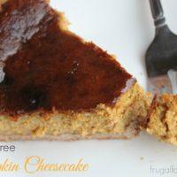 Sugar-Free Pumpkin Cheesecake Recipe