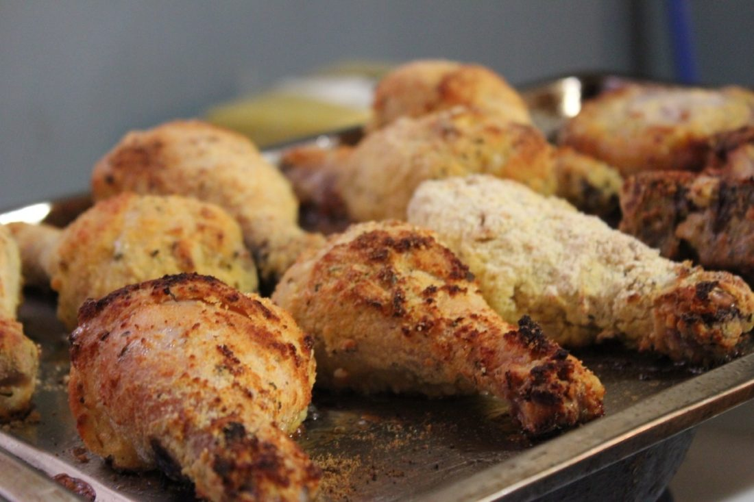 This gluten-free oven fried chicken will quickly become a family favorite!
