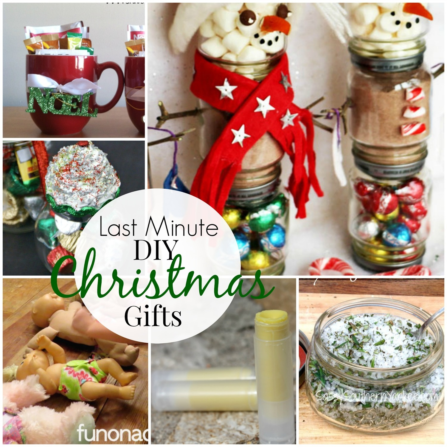 Last Minute DIY Christmas Gifts Roundup | The Frugal Farm Wife