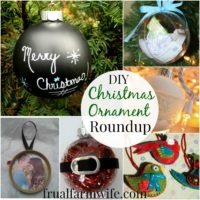 Simple DIY Christmas Ornament Roundup