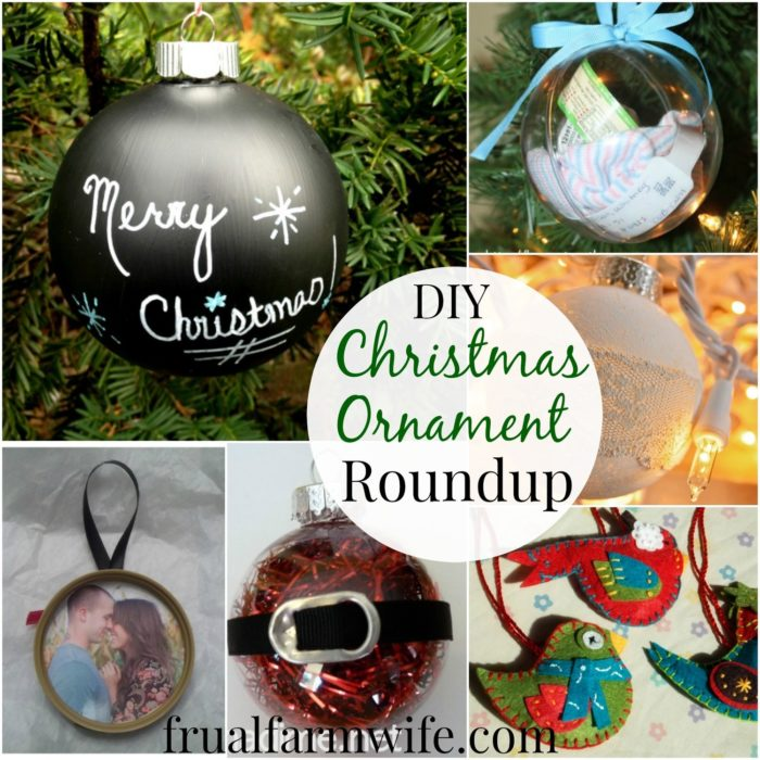 Simple DIY Christmas Ornament Roundup