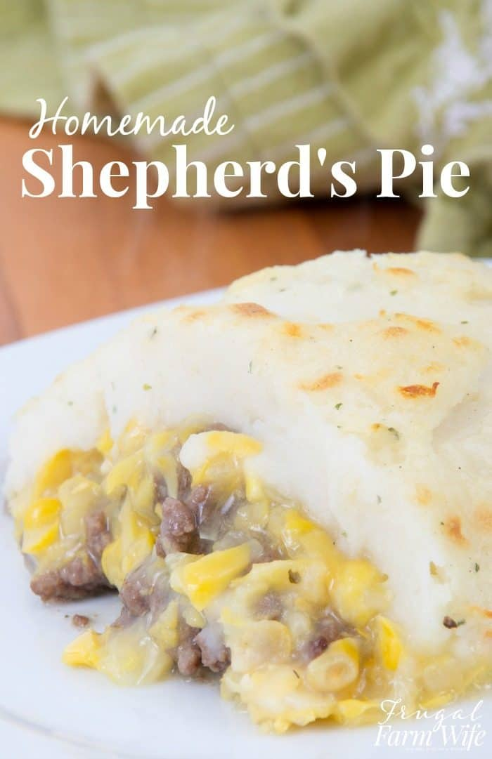 This shepherd's pie recipe is so delicious! One of my favorite hearty dinners!