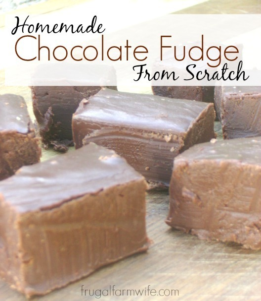 Recipe For Chocolate Fudge