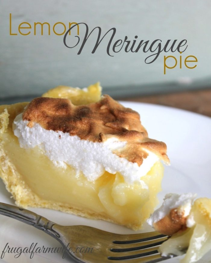 Easy Lemon Meringue Pie Recipe