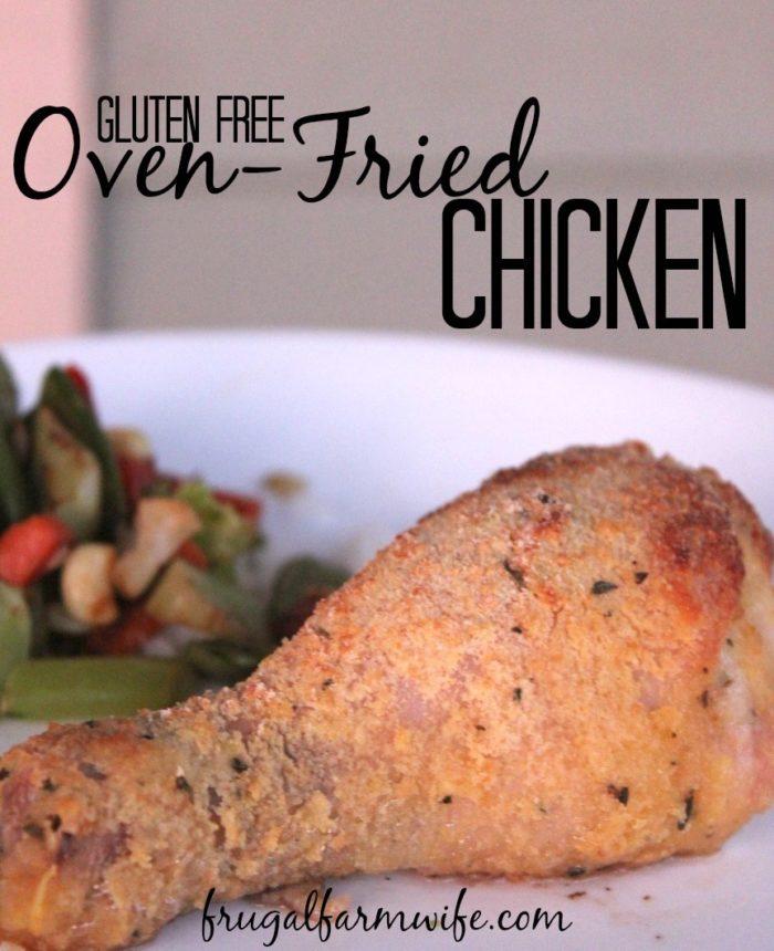 Gluten-Free Oven Fried Chicken Recipe