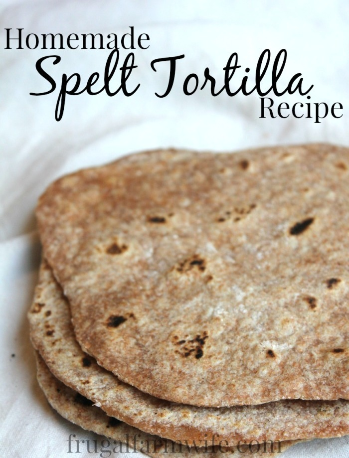 How To Make Spelt tortillas