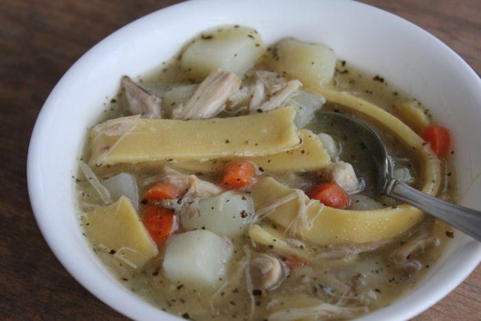 gluten free chicken noodle soup