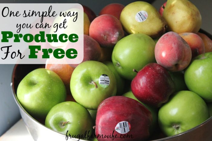 How To Get Free Produce