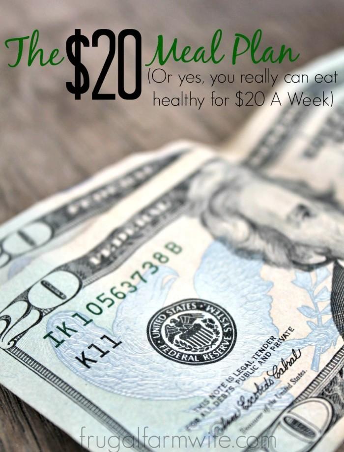 $20 Meal Plan