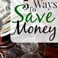 5 Ways We Saved Money In February