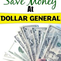 Six Ways To Save At Dollar General