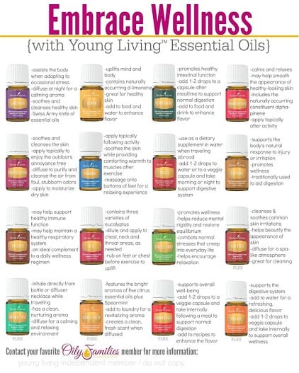 Young Living Essential Oil Bonuses
