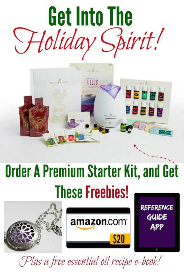 Holiday Essential Oil Bonus Specials!