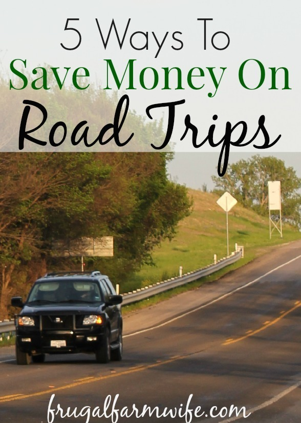 ways to save money on road trips
