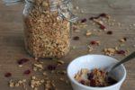 healthy granola cereal