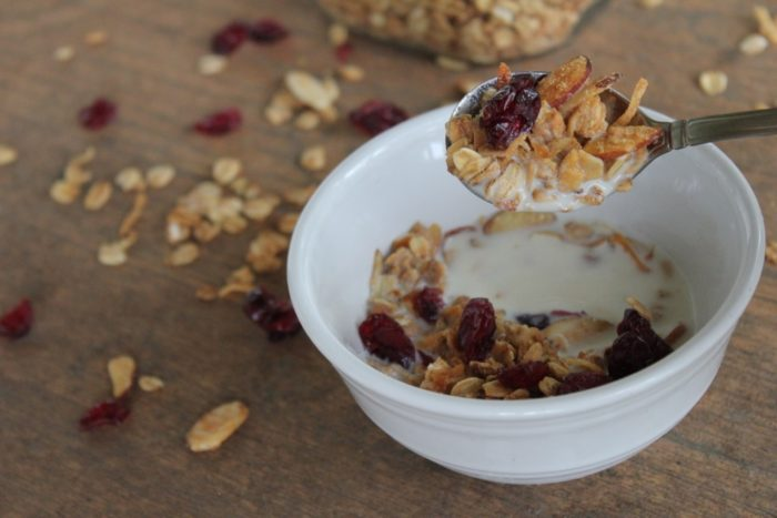 healthy granola cereal