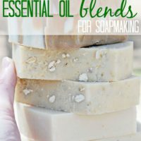 Essential Oil Blends Recipes for Homemade Soap making