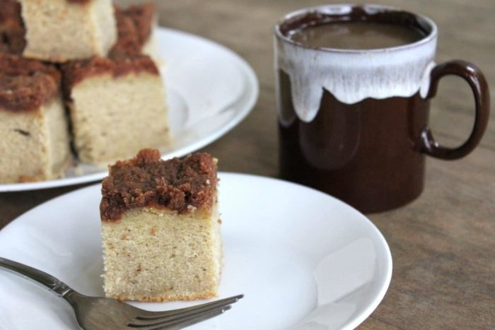 gluten-free banana coffee cake