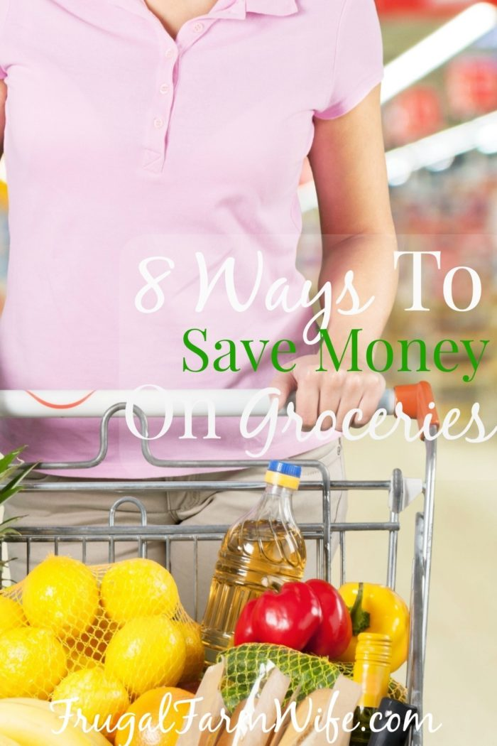 8 ways to save money on groceries