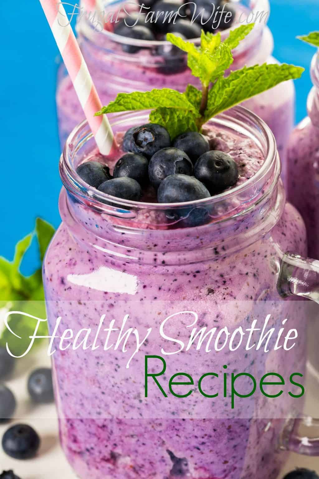 how to make a healthy smoothie with frozen fruit fruit appetizers