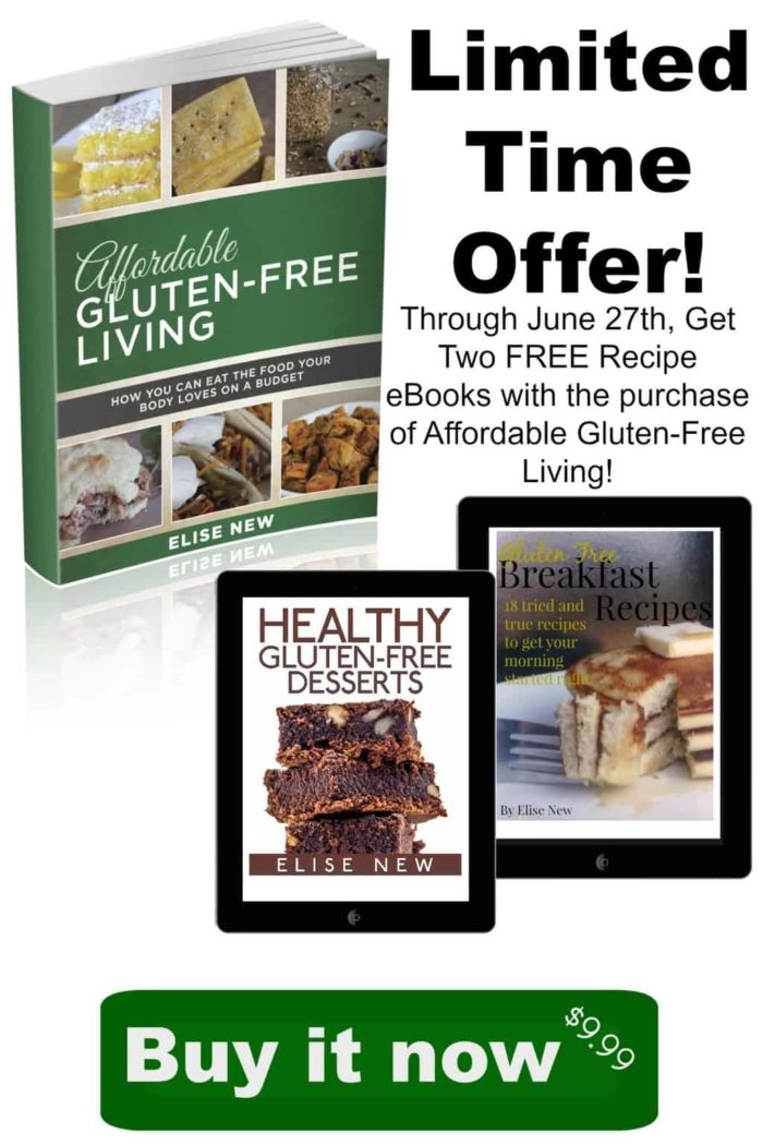 Affordable Gluten-Free Living (the book) is here! Written by Frugal Farm Wife - a great cook with a gluten-free family lifestyle!