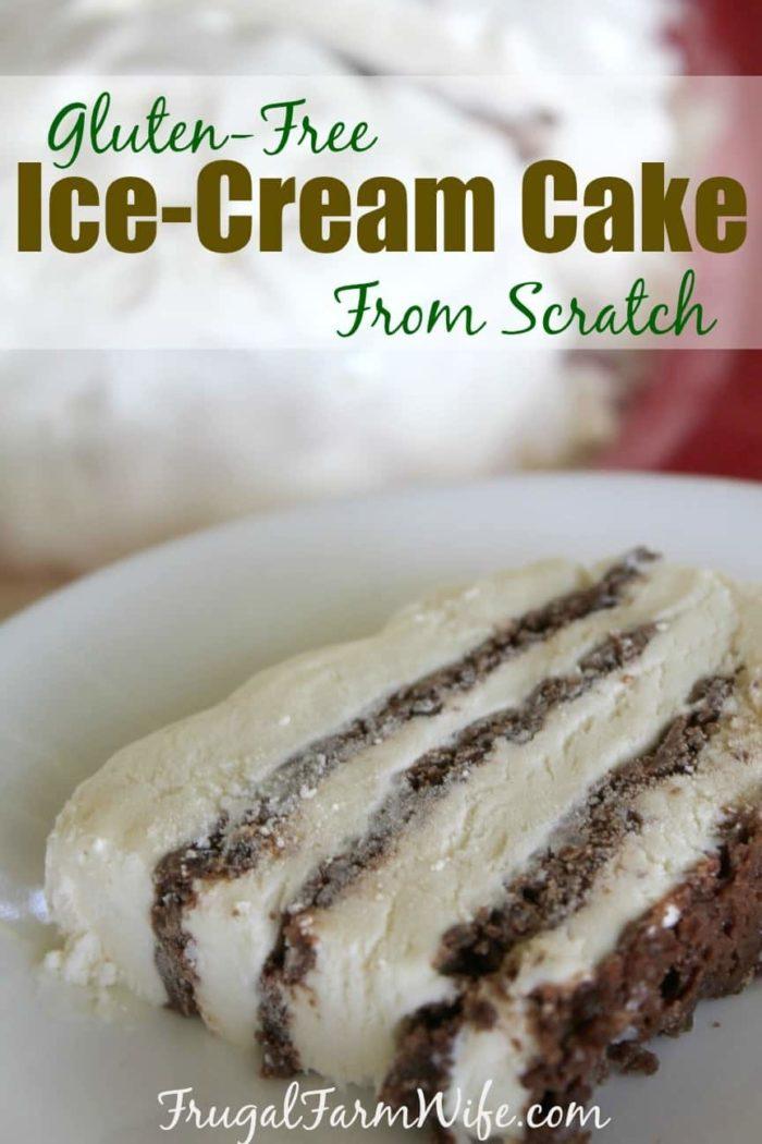 Gluten-free Ice Cream Cake