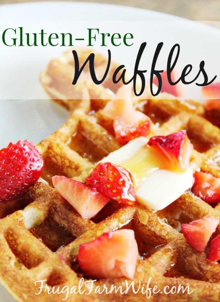 Gluten-Free Waffles Recipe
