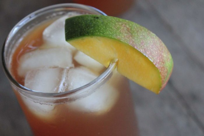 mango flavored iced tea