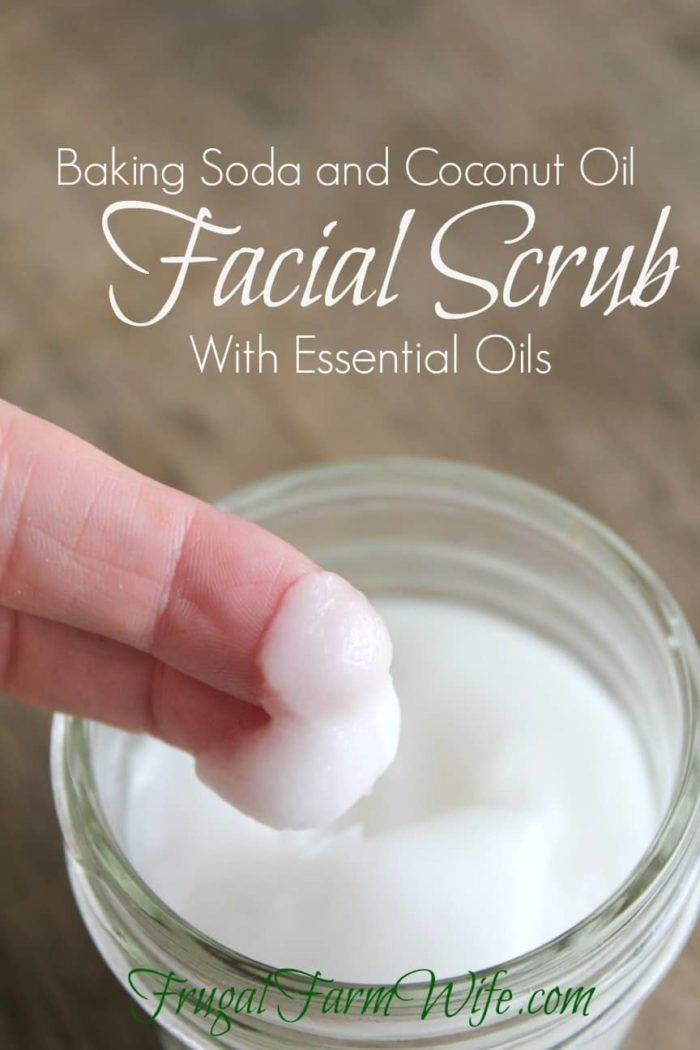 Baking Soda Face Wash | The Frugal Farm
