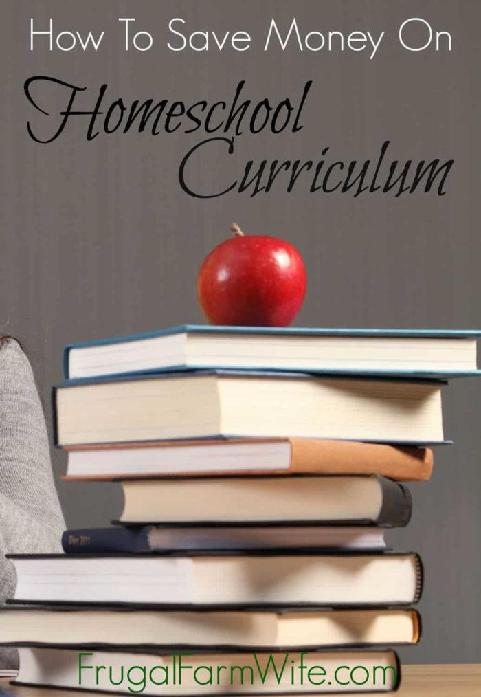how to save money on homeschool curriculum. There's some things in here I'd never heard of!