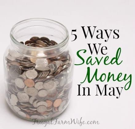 Saving Money Versus Making Money