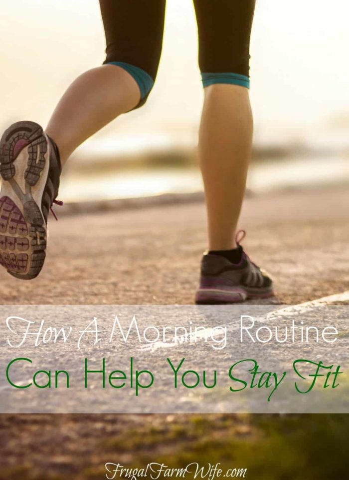 Learn how a morning routine helps me stay fit and ready to tackle the demands of motherhood!