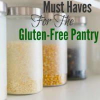 18 Gluten-Free Pantry Essentials