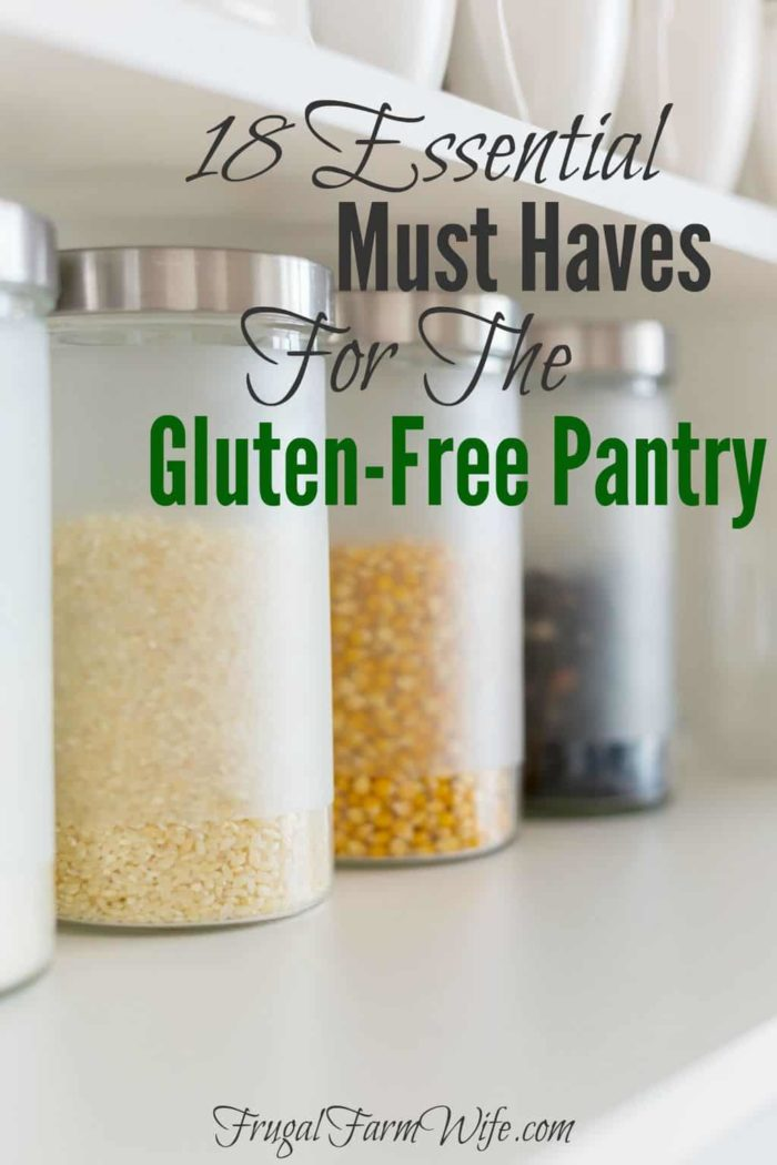Check out this bloggers list of 18 gluten-free pantry essentials that you can't live without!