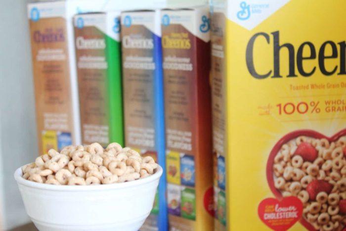 a bowl of gluten-free cheerios