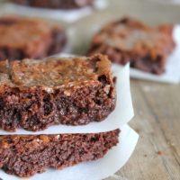 Flourless Gluten-Free Brownies