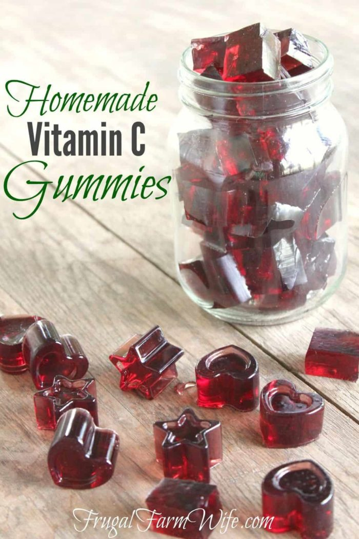 Homemade Vitamin C Gummies | The Frugal Farm Wife