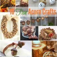 16 Fun Fall Acorn DIYs