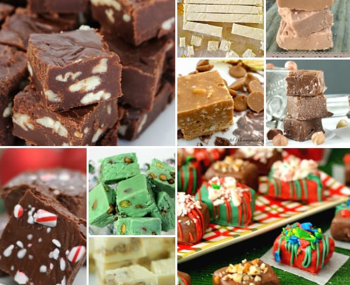 This blogger put together 30 holiday fudge recipes! Amazing! I'm totally making the pistachio flavor!