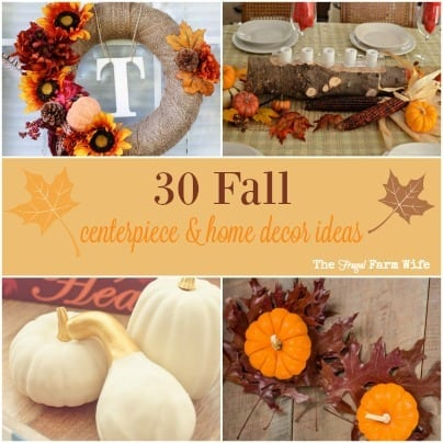 I've been wanting to make a fall wreath for so long and this one is perfect! Check out this bloggers post on fall home decor and centerpieces!