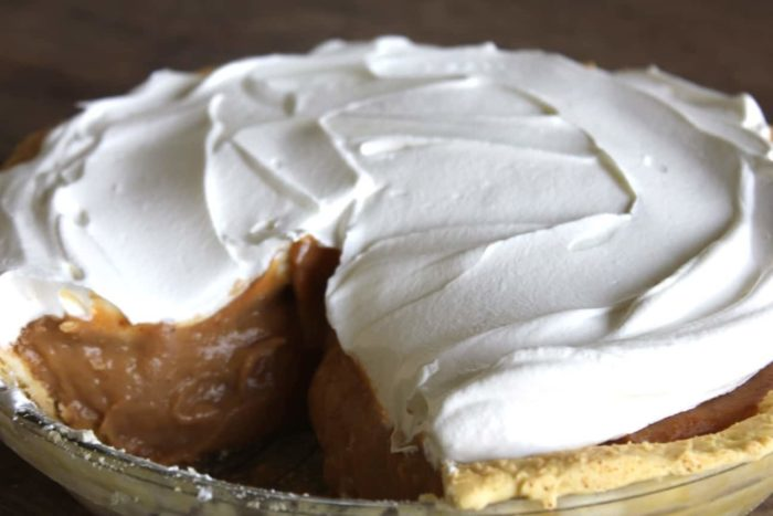 Pumpkin Cream Pie Recipe